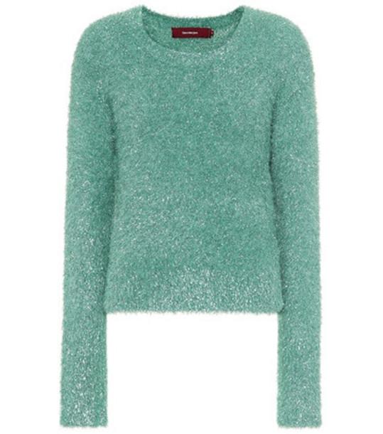 Sies Marjan Metallic sweater in green