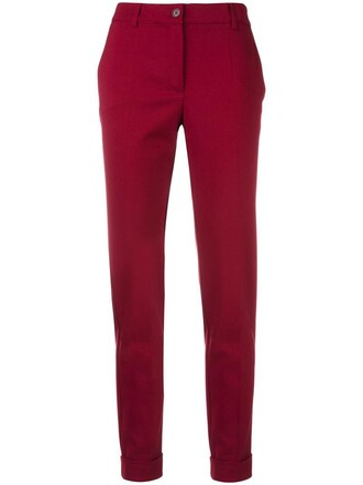 women spandex wool red pants