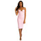 Kim dress in light pink – noodz boutique