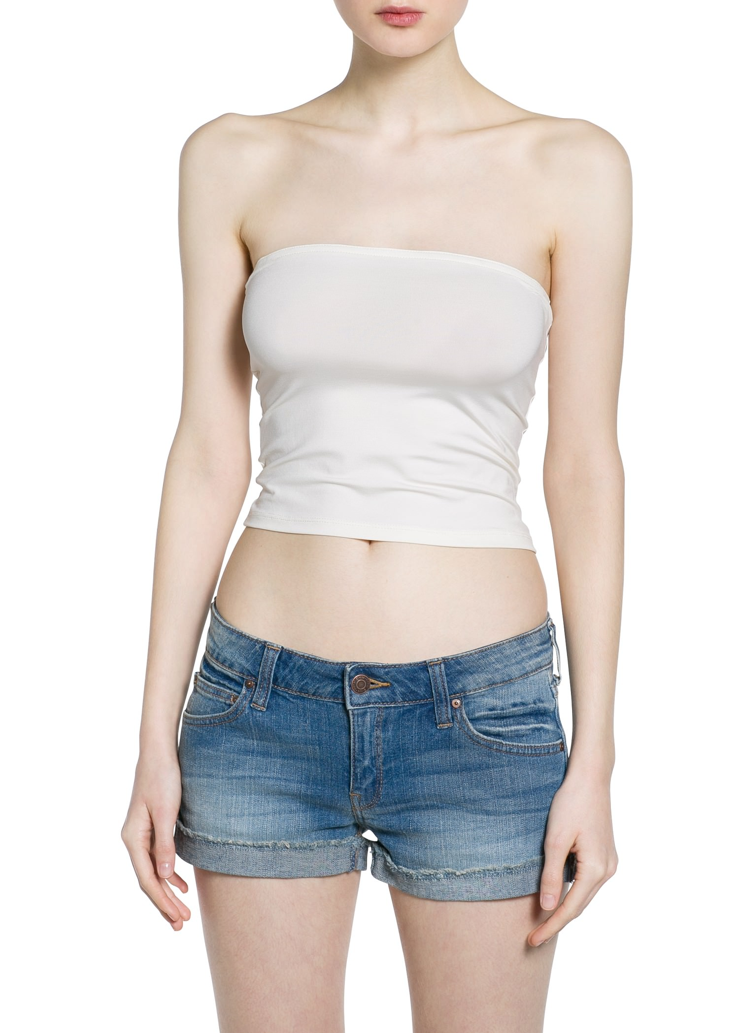 Top bandeau - Camisetas y tops de Mujer | MANGO