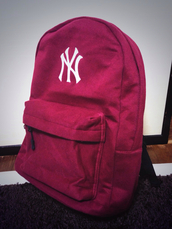 bag,new york city,street,burgundy
