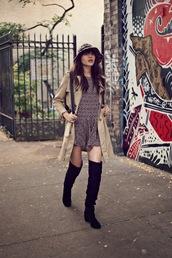 natalie off duty,shoes,coat,dress,hat,jewels