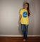 Chaquita banana vintage tshirt, yellow t