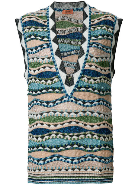 Missoni vest women knit jacket