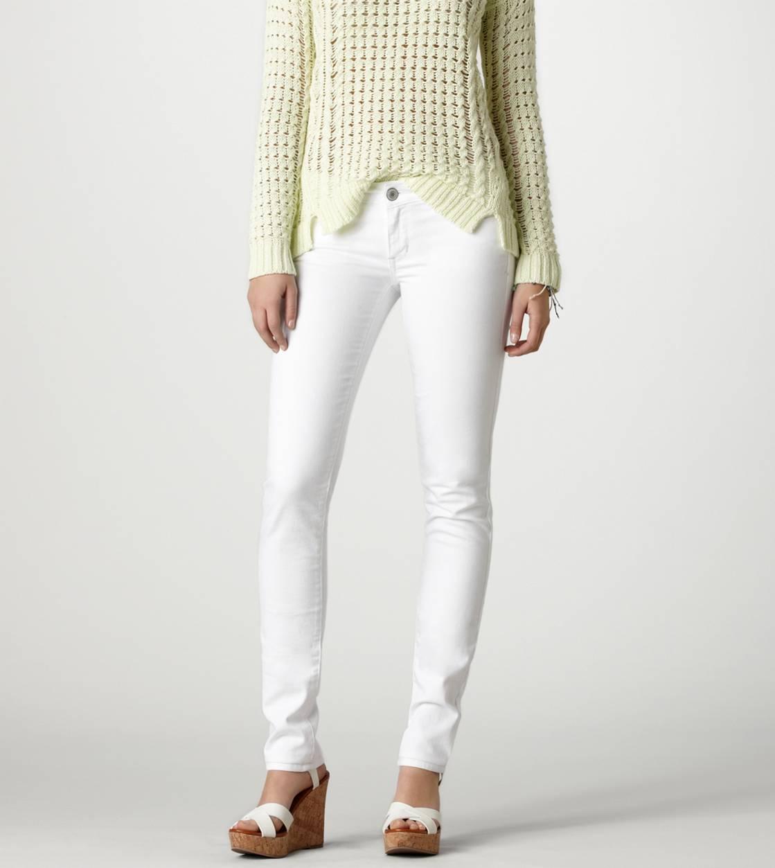 American eagle floral skinny jeans