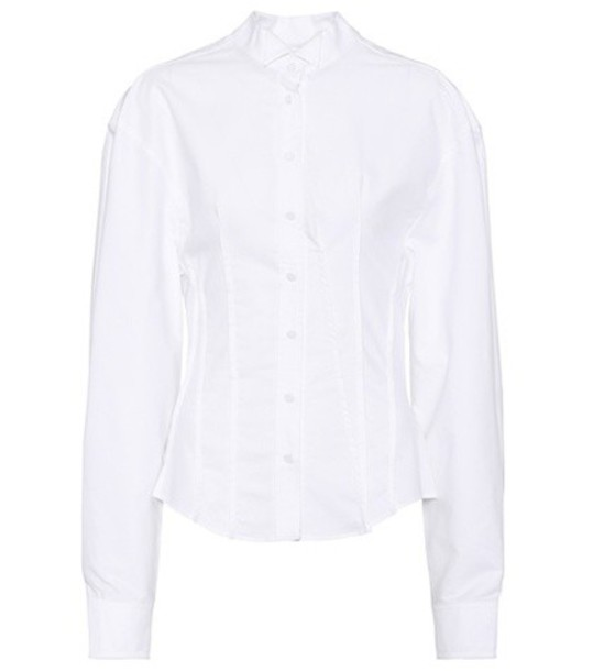 Jacquemus shirt cotton white top