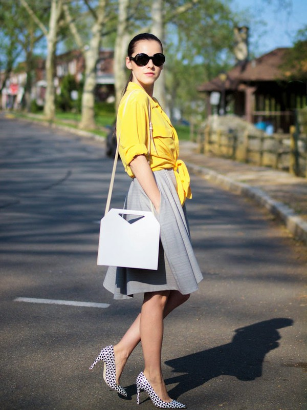 bittersweet colours shoes bag sunglasses shirt dress