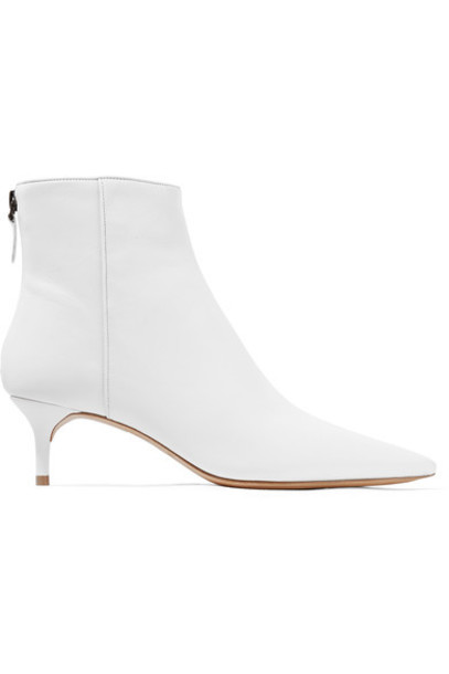 Alexandre Birman leather ankle boots ankle boots leather white shoes