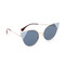 Fendi arrow accent sunglasses - rose gold blue/blue