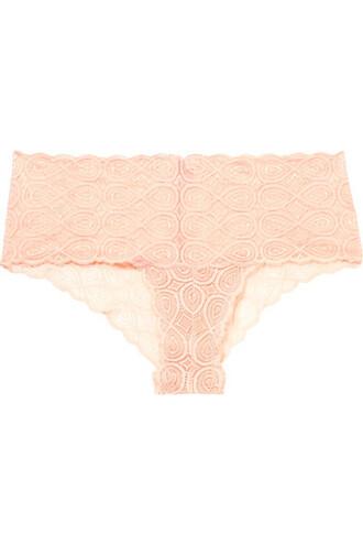 sweet infinity lace neutral underwear