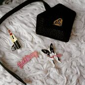 jewels,yeah bunny,pins,pink,accessories