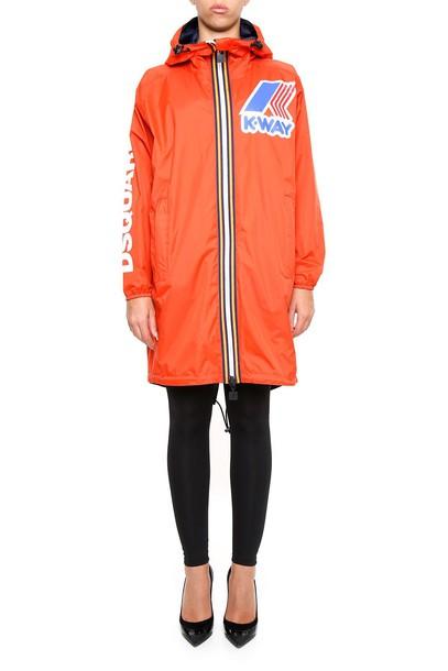 Dsquared2 jacket orange