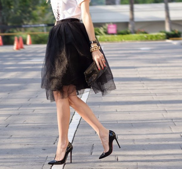 our favourite style t-shirt skirt bag jewels shoes