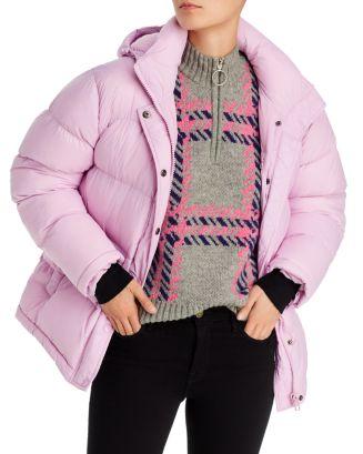 AQUA Short Hooded Puffer Coat - 100% Exclusive | Bloomingdale's