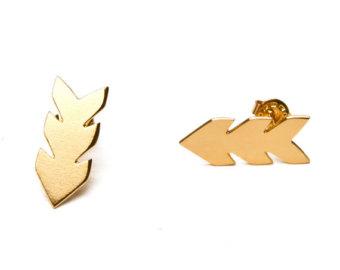 Popular items for geometric earrings on Etsy