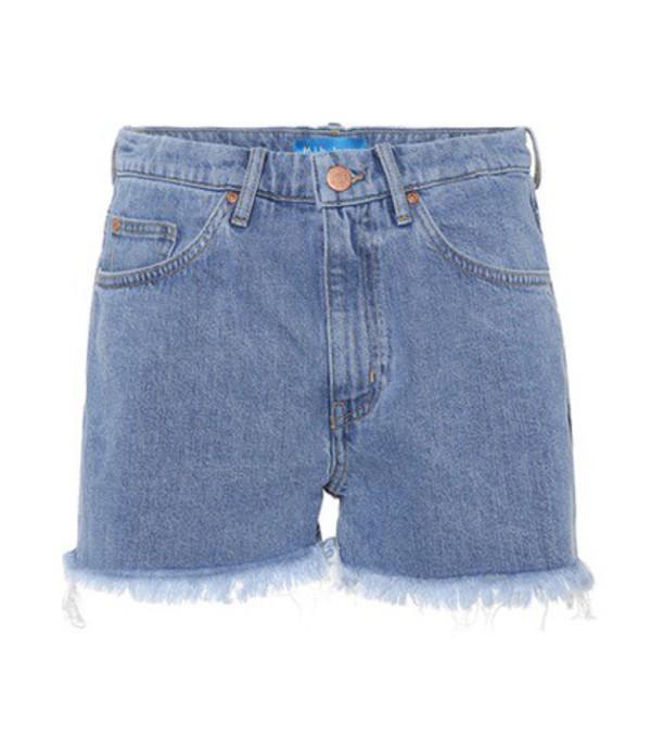 M.i.h Jeans Halsy Cut Off denim shorts in blue