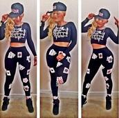 jumpsuit,jumper,justin bieber sweater,romper,playsuit navy kyliejenner,keisha ka' oir,keisha,tights,leggings,bodycon dress,tight pants,playing card,black,celebrity style