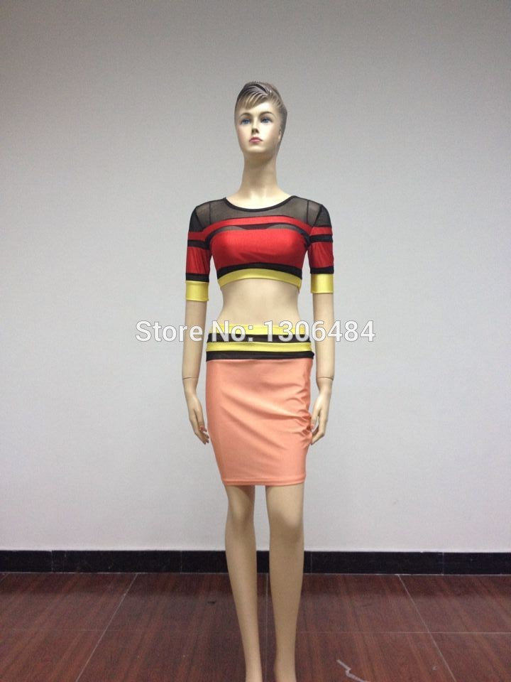 Aliexpress.com : buy free shipping 2014 hot sexy two piece lace stitching dress cherrykeke over hip contrast color women clothing dresses from reliable dress overlay suppliers on shopping online in china