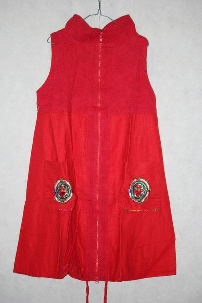 coat long vest