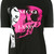 McQ Alexander McQueen printed logo T-shirt, Women's, Size: Medium, Black, Cotton