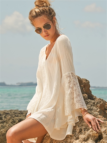 L Space Boardwalk Tunic in Ivory