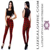 jumpsuit,checkered,checkered pants,christmas
