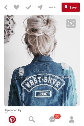 jacket denim jeans denim jacket blue denim jacket vintage coat