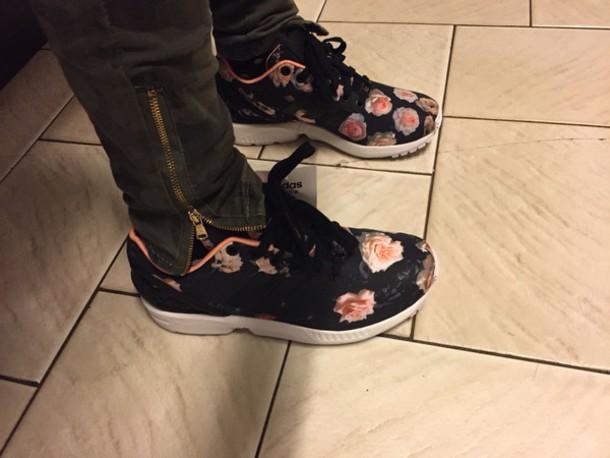 shoes sneakers footlocker floral dress