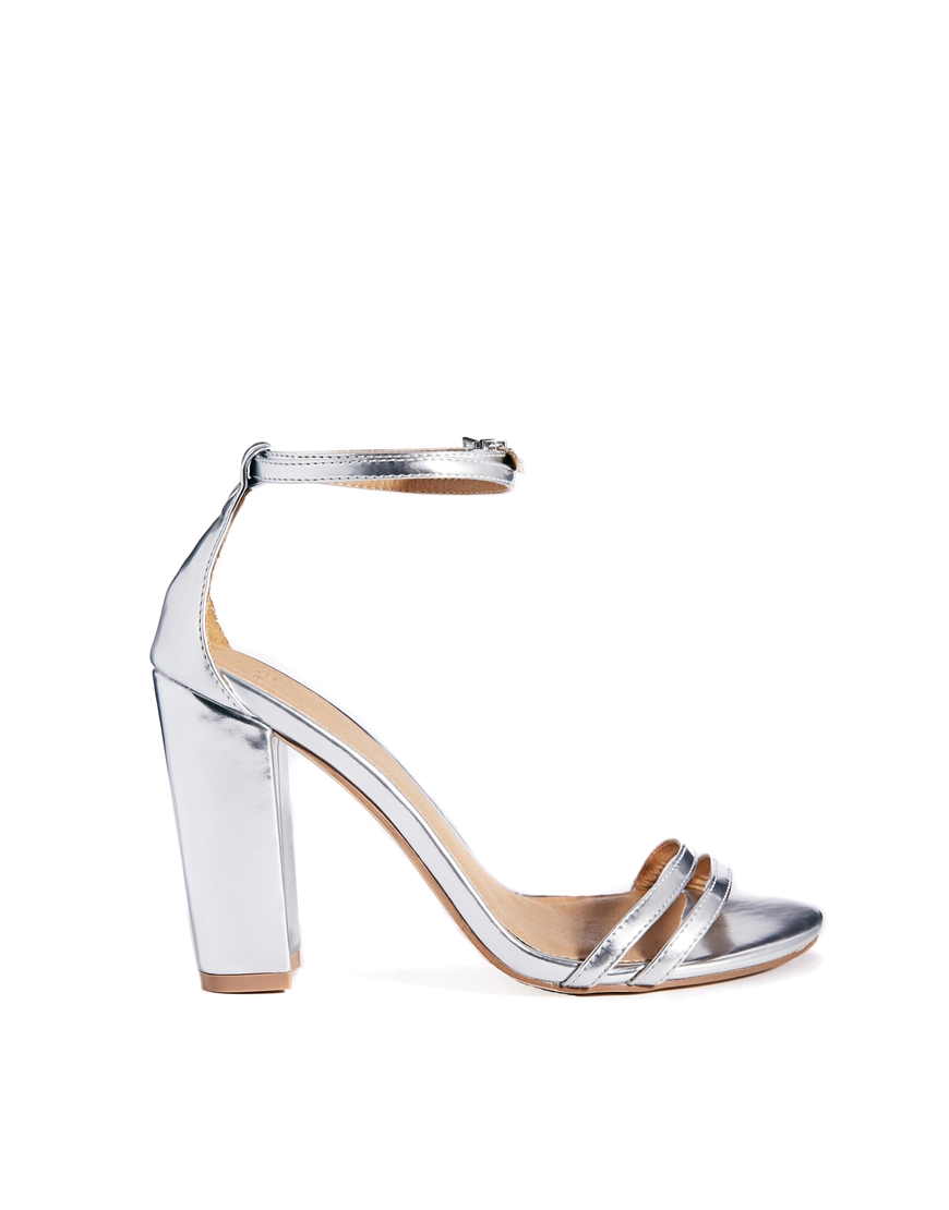 ASOS HAMILTON Heeled Sandals at asos.com