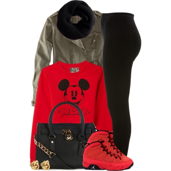 shoes air jordan 9 mickey crop top pants shirt black velvet legging