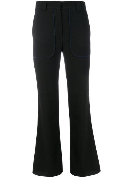 See by Chloe women spandex black pants