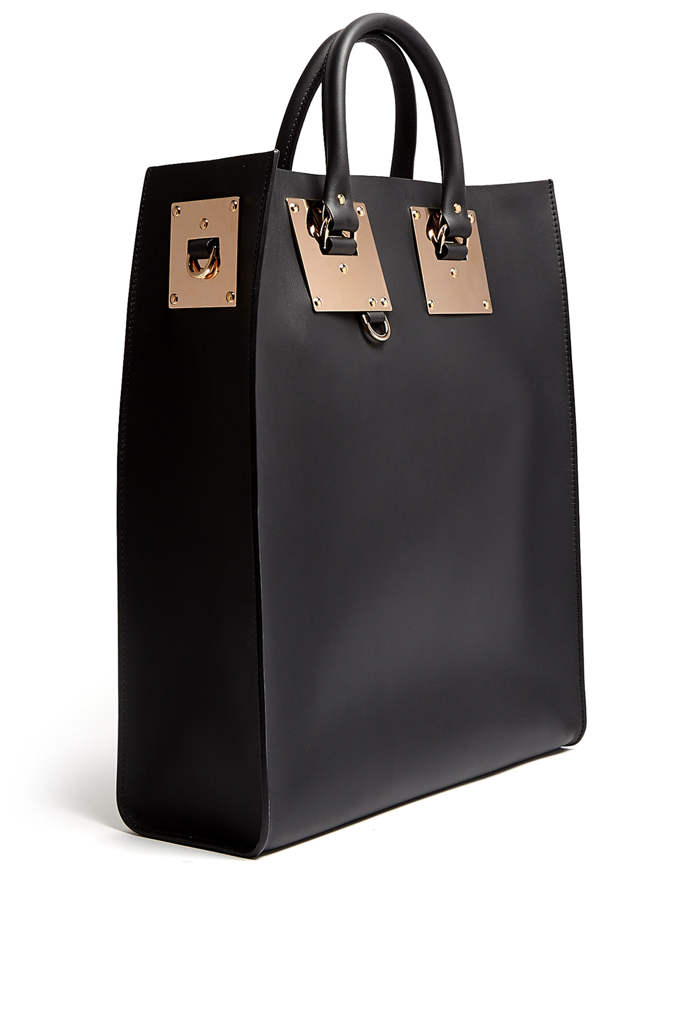 Sophie Hulme | Large Leather Tote Bag by Sophie Hulme
