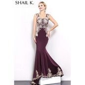 dress,wedding dress,plum