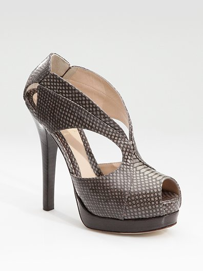 Blake Lively: In Love with Fendi's Crazy In Love Snakeskin Sandals