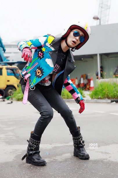 jacket charmaine sheh multicolor perfecto