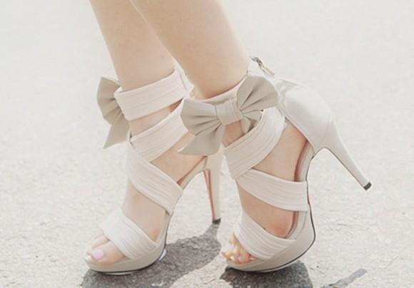 open toes high heels