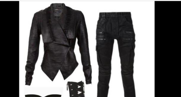 pants black pants