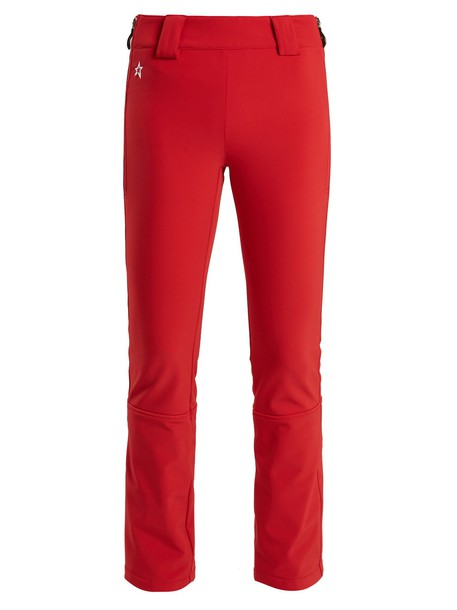 Perfect Moment flare high red pants