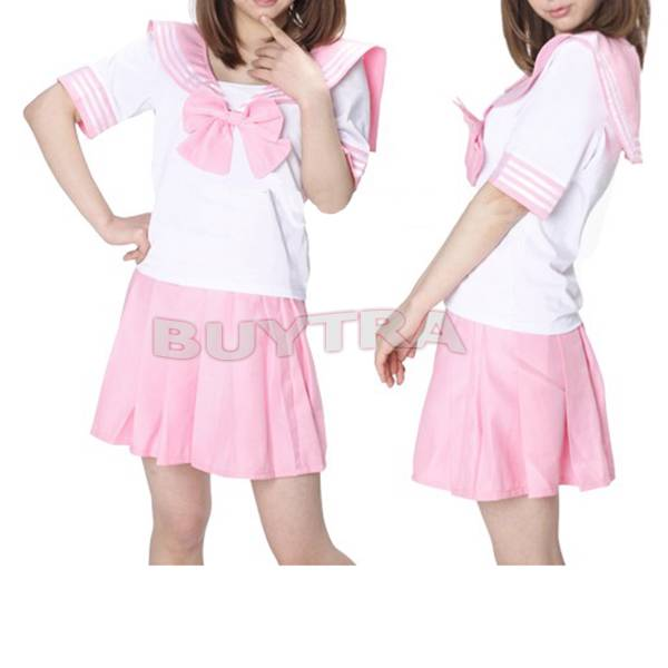 US Selling Japanese Japan School Uniform Dress Cosplay Anime Surcoat Lolita MO | eBay