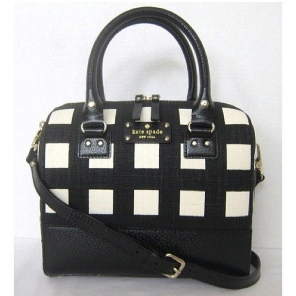 bag kate spade kate spade black and white