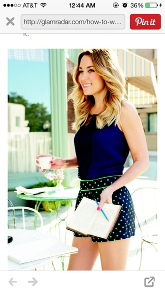 shorts lauren conrad