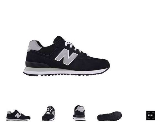 shoes new balance black sneakers grey