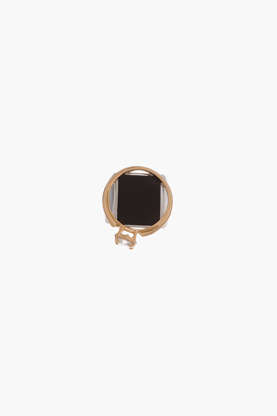 maison martin margiela gold and silver stacked ring. Black Bedroom Furniture Sets. Home Design Ideas