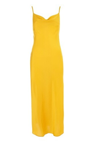 dress slip dress midi satin