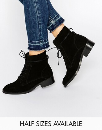 shoes boots black boots lace up boots asos classic