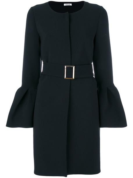 coat women spandex black