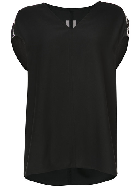 Rick Owens t-shirt shirt t-shirt loose women fit black top