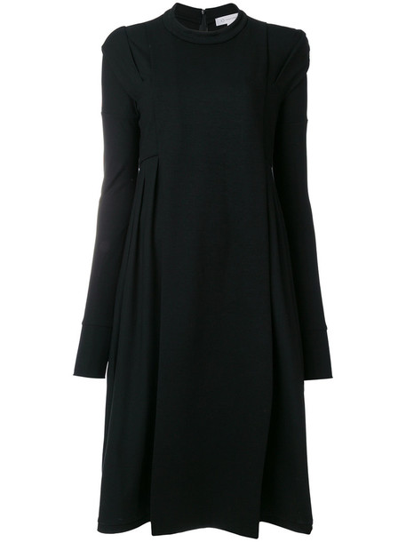 Io Ivana Omazic dress women midi spandex cotton black