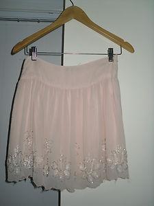 Primark topshop embellished skater skirt size 8