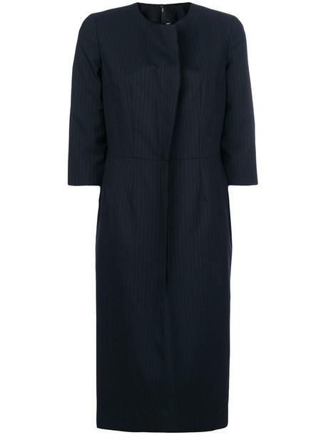Comme des Garçons Comme des Garçons dress cropped women blue wool